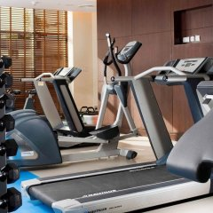 Отель Novotel Suites Mall of the Emirates фитнесс-зал фото 2