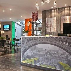 Отель Alpha Tour Eiffel Булонь-Бийанкур гостиничный бар