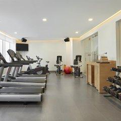Отель Hyatt Place Dubai Baniyas Square фитнесс-зал