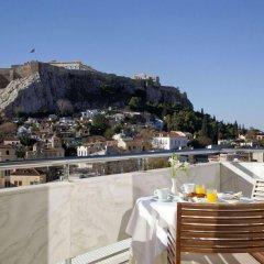 Отель Electra Palace Hotel Athens Греция, Афины - 1 отзыв об отеле, цены и фото номеров - забронировать отель Electra Palace Hotel Athens онлайн балкон