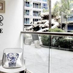 Отель Centara Avenue Residence A B C Паттайя балкон