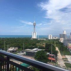 Отель Treetops Pattaya Condominium Паттайя балкон