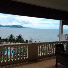 Отель Baan Somprason Condo Pattaya балкон