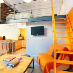 Отель L'imprimerie - Appartements Hotel Франция, Лион - отзывы, цены и фото номеров - забронировать отель L'imprimerie - Appartements Hotel онлайн комната для гостей фото 4