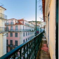 Отель Duas Nacoes Португалия, Лиссабон - 7 отзывов об отеле, цены и фото номеров - забронировать отель Duas Nacoes онлайн балкон