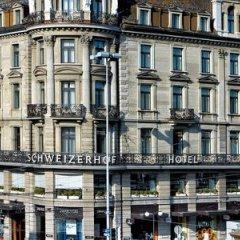 Отель Schweizerhof Zürich Швейцария, Цюрих - отзывы, цены и фото номеров - забронировать отель Schweizerhof Zürich онлайн приотельная территория фото 2