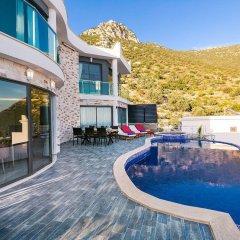 Villa Zirve Турция, Патара - отзывы, цены и фото номеров - забронировать отель Villa Zirve онлайн бассейн фото 2