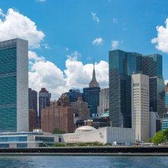 Отель Millennium Hilton New York One UN Plaza США, Нью-Йорк - 1 отзыв об отеле, цены и фото номеров - забронировать отель Millennium Hilton New York One UN Plaza онлайн бассейн