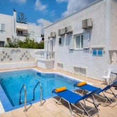 Отель Pension Petros Греция, Остров Санторини - отзывы, цены и фото номеров - забронировать отель Pension Petros онлайн бассейн фото 3
