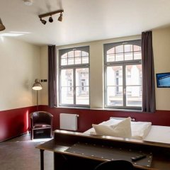 Отель Aparion Leipzig City Германия, Лейпциг - отзывы, цены и фото номеров - забронировать отель Aparion Leipzig City онлайн комната для гостей фото 4