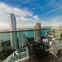 Отель Wongamat Tower by Pattaya Sunny Rentals Паттайя балкон