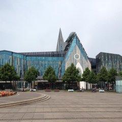 Отель McDreams Hotel Leipzig Германия, Плагвиц - отзывы, цены и фото номеров - забронировать отель McDreams Hotel Leipzig онлайн приотельная территория