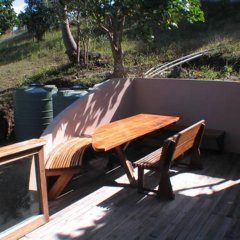 Отель Safari Island Lodge Fiji балкон