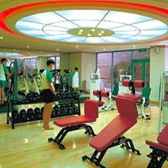 Отель Welli Hilli Park Южная Корея, Пхёнчан - отзывы, цены и фото номеров - забронировать отель Welli Hilli Park онлайн фитнесс-зал фото 2