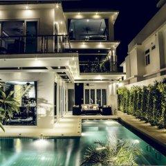 Отель Hollywood Pool Villa Jomtien Pattaya бассейн