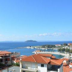 Отель Marmaras Blue Sea Ситония пляж