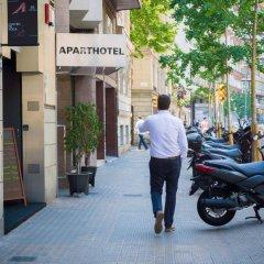 Отель Aparthotel Senator Barcelona парковка