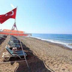 Club Mermaid Village Турция, Аланья - 1 отзыв об отеле, цены и фото номеров - забронировать отель Club Mermaid Village - All Inclusive онлайн пляж