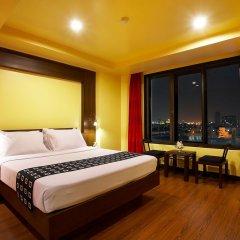 Отель Bangkok Cha-Da Hotel Таиланд, Бангкок - отзывы, цены и фото номеров - забронировать отель Bangkok Cha-Da Hotel онлайн комната для гостей фото 3