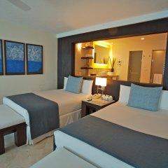 Отель Grand Park Royal Luxury Resort Cancun Caribe комната для гостей