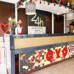 Отель OYO 106 24H City Hotel Филиппины, Макати - отзывы, цены и фото номеров - забронировать отель OYO 106 24H City Hotel онлайн интерьер отеля фото 3