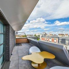 Отель B55 Франция, Париж - отзывы, цены и фото номеров - забронировать отель B55 онлайн балкон