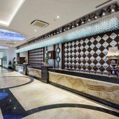 Отель Crystal Waterworld Resort And Spa Богазкент интерьер отеля фото 3