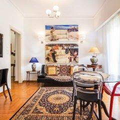 Апартаменты Retro Chic Apartment - Syntagma Square Афины комната для гостей фото 2