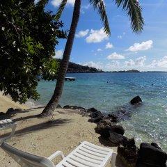 Отель Maitai Polynesia Французская Полинезия, Бора-Бора - отзывы, цены и фото номеров - забронировать отель Maitai Polynesia онлайн пляж фото 2