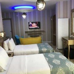Crystall Hotel комната для гостей