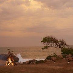 Отель Wild Coast Tented Lodge - All Inclusive Шри-Ланка, Тиссамахарама - отзывы, цены и фото номеров - забронировать отель Wild Coast Tented Lodge - All Inclusive онлайн пляж фото 2