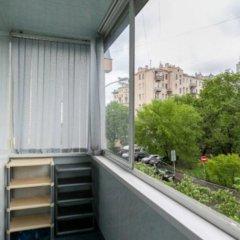 Апартаменты Delegatskaya Apartment Москва балкон