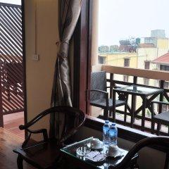 Отель Legend Hotel Sapa Вьетнам, Шапа - отзывы, цены и фото номеров - забронировать отель Legend Hotel Sapa онлайн балкон