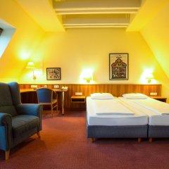 Отель Burghotel Nürnberg Германия, Нюрнберг - отзывы, цены и фото номеров - забронировать отель Burghotel Nürnberg онлайн комната для гостей фото 5