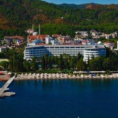 Отель Grand Azur Marmaris пляж