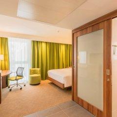 Отель Hampton by Hilton Munich City West Германия, Мюнхен - 1 отзыв об отеле, цены и фото номеров - забронировать отель Hampton by Hilton Munich City West онлайн комната для гостей фото 4