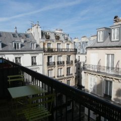 Отель Hôtel Aida Opéra Франция, Париж - 9 отзывов об отеле, цены и фото номеров - забронировать отель Hôtel Aida Opéra онлайн балкон