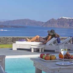 Отель Santorini Princess Presidential Suites Греция, Остров Санторини - отзывы, цены и фото номеров - забронировать отель Santorini Princess Presidential Suites онлайн питание