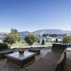 Отель Beau Rivage Geneva Швейцария, Женева - 2 отзыва об отеле, цены и фото номеров - забронировать отель Beau Rivage Geneva онлайн балкон
