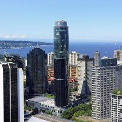 Отель Sheraton Vancouver Wall Centre Канада, Ванкувер - отзывы, цены и фото номеров - забронировать отель Sheraton Vancouver Wall Centre онлайн пляж