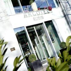 Отель Arcotel Rubin Гамбург вид на фасад