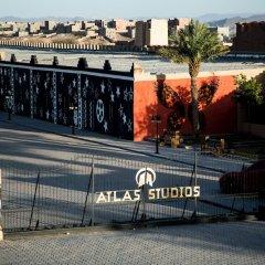 Отель Oscar Hotel by Atlas Studios Марокко, Уарзазат - отзывы, цены и фото номеров - забронировать отель Oscar Hotel by Atlas Studios онлайн приотельная территория