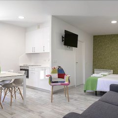 Отель Apartamentos Aldagaia Испания, Эрнани - отзывы, цены и фото номеров - забронировать отель Apartamentos Aldagaia онлайн комната для гостей фото 5