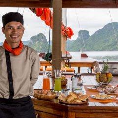 Отель L'Azalée Cruises питание
