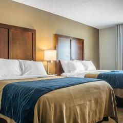 Отель Comfort Inn The Pointe США, Ниагара-Фолс - отзывы, цены и фото номеров - забронировать отель Comfort Inn The Pointe онлайн комната для гостей фото 4