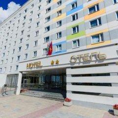 Гостиница Спорт-тайм вид на фасад фото 2