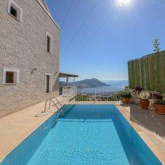 Villa Asteria Турция, Калкан - отзывы, цены и фото номеров - забронировать отель Villa Asteria онлайн бассейн фото 2