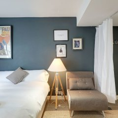 Апартаменты Modern Boho Studio - Central Brighton комната для гостей