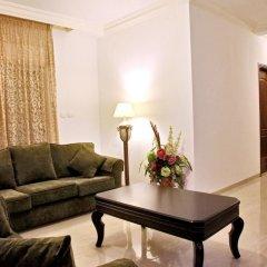 Отель Al Dyafah Furnished Apartment Иордания, Амман - отзывы, цены и фото номеров - забронировать отель Al Dyafah Furnished Apartment онлайн комната для гостей фото 4