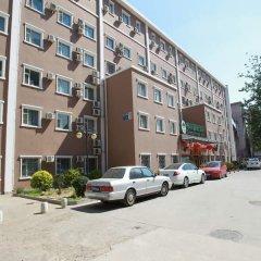 Отель GreenTree Inn BeiJing AnZhen Bird's Nest Business Hotel Китай, Пекин - отзывы, цены и фото номеров - забронировать отель GreenTree Inn BeiJing AnZhen Bird's Nest Business Hotel онлайн парковка